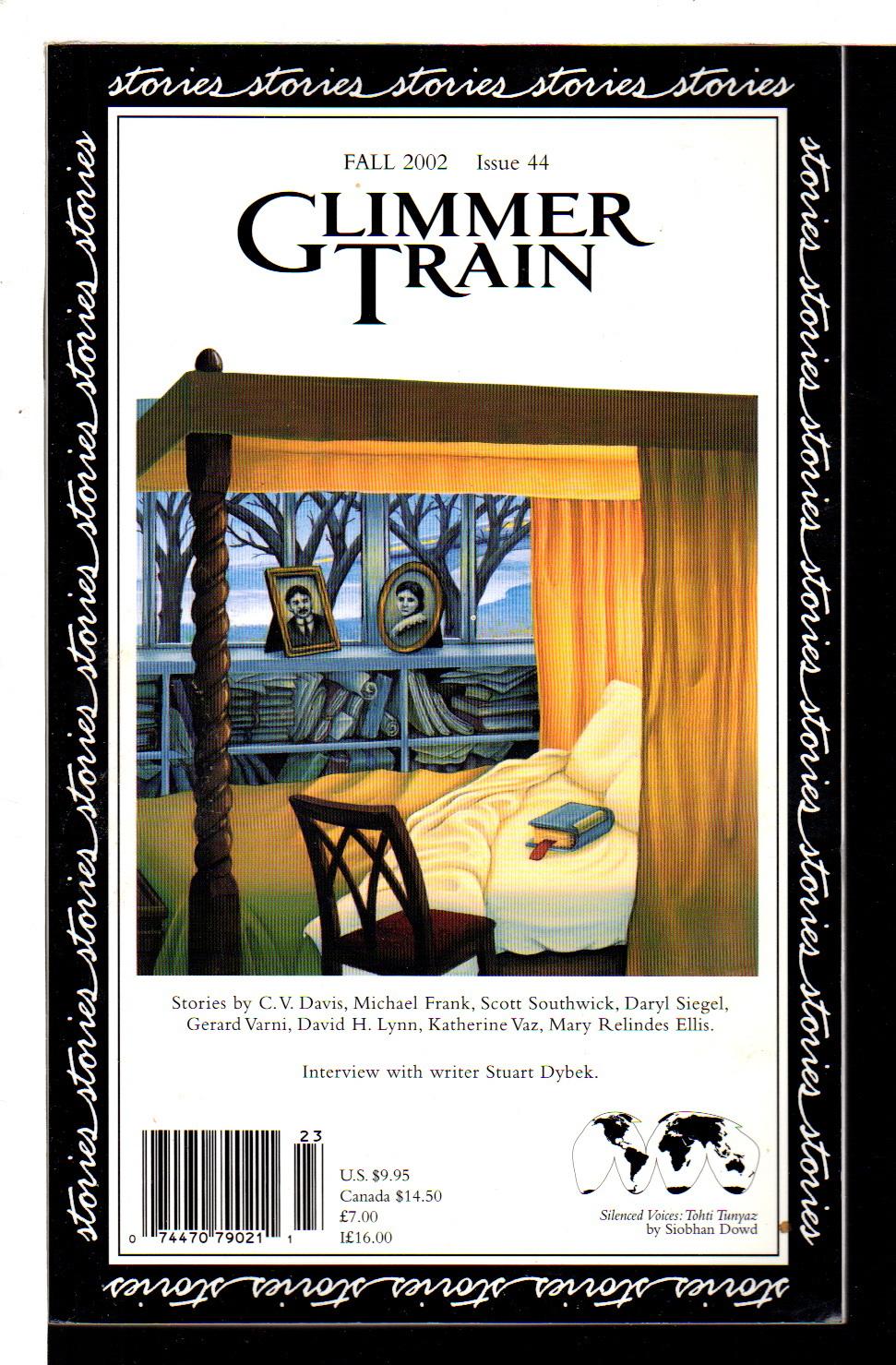 BURMEISTER, SUSAN AND LINDA DAVIES,  EDITORS. - GLIMMER TRAIN: FALL 2002, Issue 44.