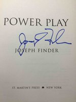 POWER PLAY. by Finder, Joseph.
