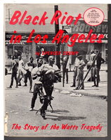 BLACK RIOT IN LOS ANGELES: The Story of the Watts Tragedy. by Crump, Spencer.
