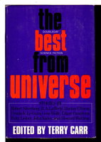THE BEST OF UNIVERSE. by [Anthology, signed] Carr, Terry, editor ; Robert Silverberg and Gene Wolfe, signed.