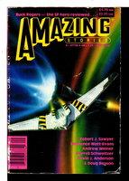 GOLDEN FLEECE in Amazing Stories magazine. September 1988, Volume 63, Number 3. by Sawyer, Robert J.
