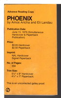PHOENIX. by Aricha, Amos and Eli Landau.
