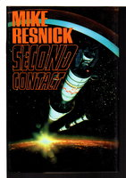 SECOND CONTACT. by Resnick, Mike.
