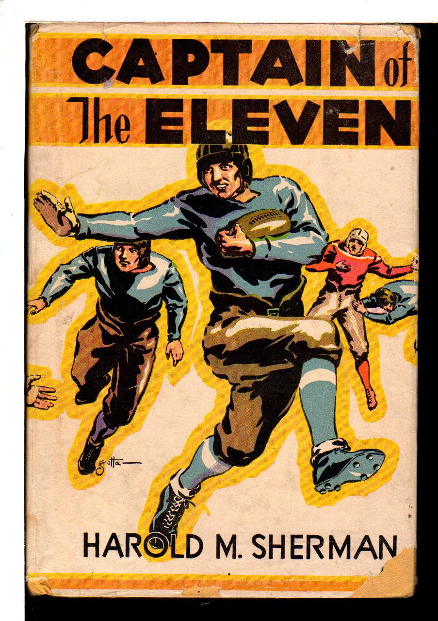 SHERMAN, HAROLD M. (1898 - 1987) - CAPTAIN OF THE ELEVEN.