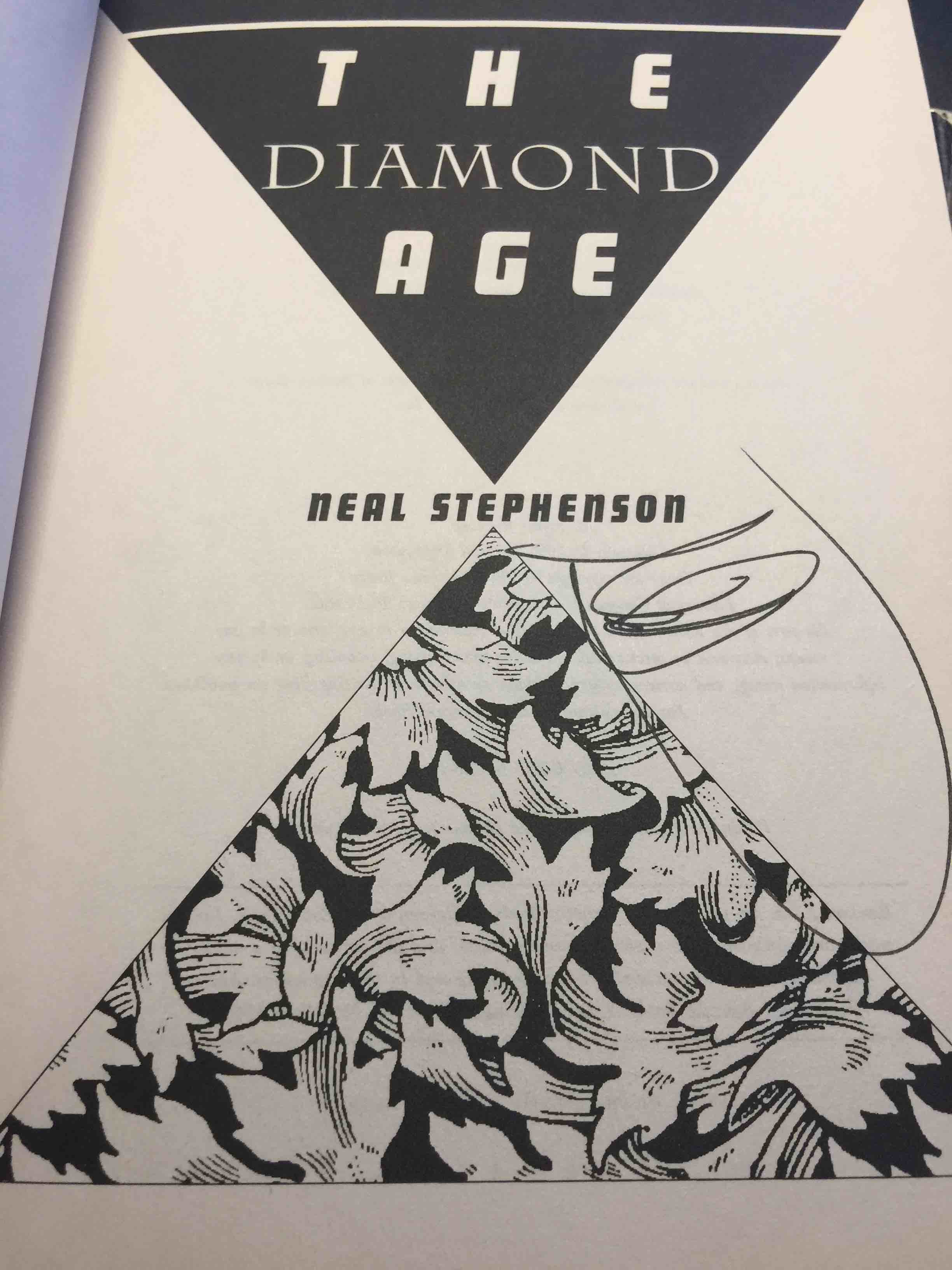 diamond age Now, in the diamond age, he delivers another stunning tale set in 21st-century shanghai, it is the story of what happens when a state-of-the-art interactive device falls into the hands of a street urchin named nell.