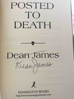 POSTED TO DEATH: A Simon Kirby-Jones Mystery. by James, Dean.