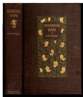 SENTIMENTAL TOMMY: The Story of His Boyhood. by Barrie, J. M. [James Matthew 1860-1937.]