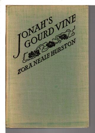 JONAH'S GOURD VINE. by Hurston, Zora Neale