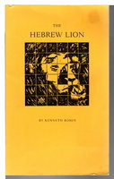 THE HEBREW LION. by Rosen, Kenneth. Afterword by Amy Clampitt.