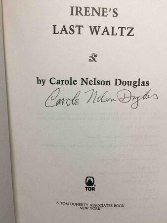 IRENE'S LAST WALTZ. by Douglas, Carole Nelson.