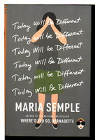 TODAY WILL BE DIFFERENT. by Semple, Maria.