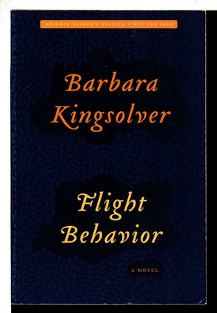 FLIGHT BEHAVIOR. by Kingsolver, Barbara.