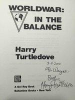 WORLDWAR: IN THE BALANCE. by Turtledove, Harry,
