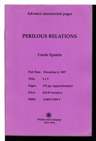 PERILOUS RELATIONS. by Epstein, Carole.