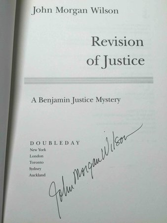 REVISION OF  JUSTICE. by Wilson, John Morgan.