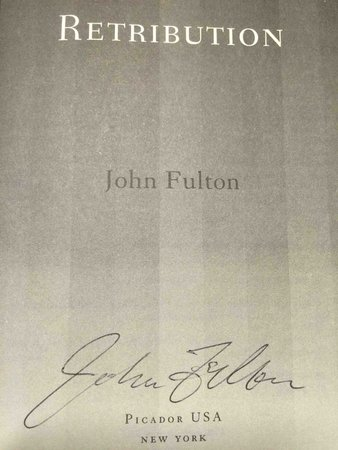 RETRIBUTION. by Fulton, John.
