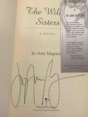 THE WILDER SISTERS. by Mapson, Jo-Ann.