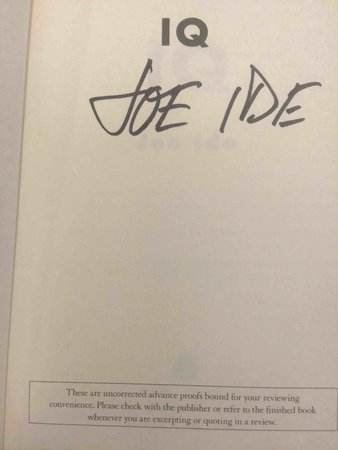IQ. by Ide, Joe.