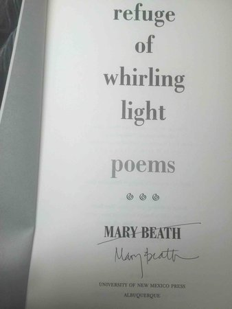 REFUGE OF WHIRLING LIGHT. by Beath, Mary.