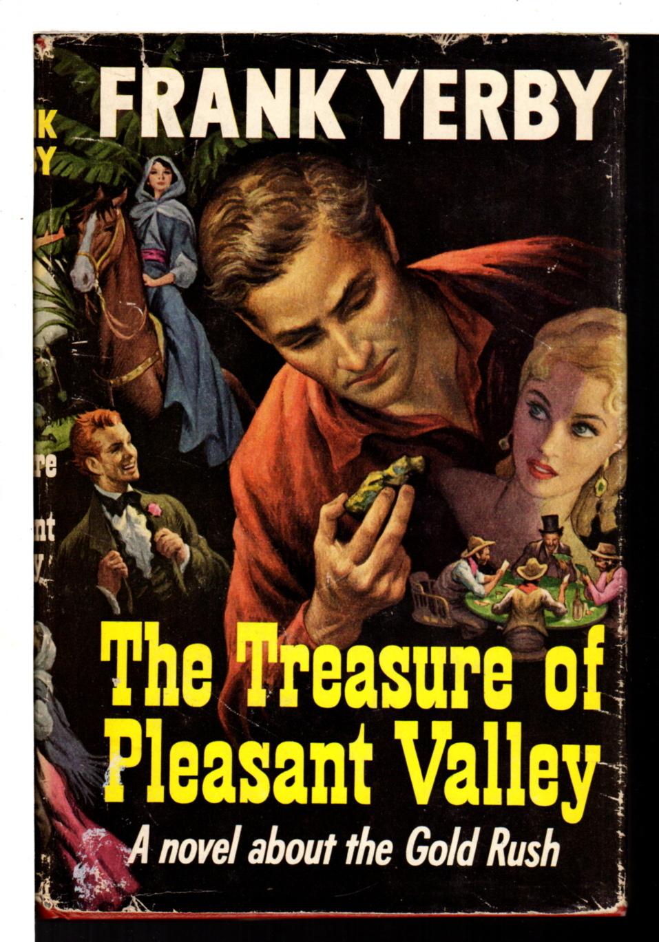 YERBY, FRANK. - TREASURE OF PLEASANT VALLEY.