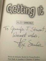 GETTING IT. by Sanchez, Alex.