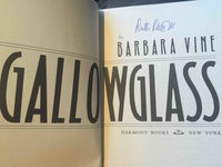 GALLOWGLASS. by Vine, Barbara [pseudonym for Ruth Rendell, 1930-2015]