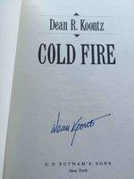 COLD FIRE. by Koontz, Dean