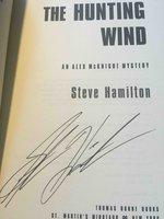 THE HUNTING WIND: An Alex McKnight Mystery. by Hamilton, Steve.