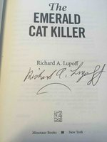 THE EMERALD CAT KILLER. by Lupoff, Richard A.