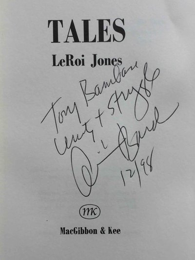 TALES by Baraka, Amiri (LeRoi Jones)
