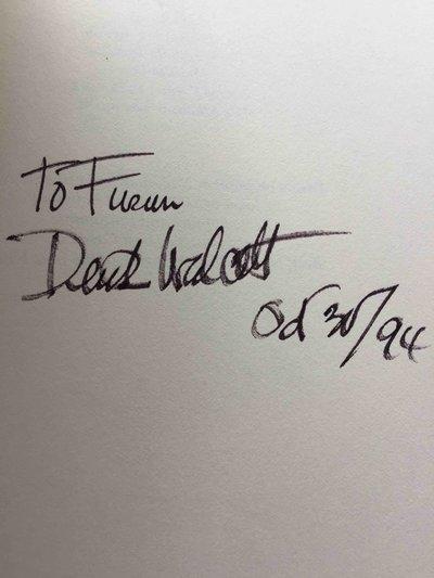 THE ODYSSEY: A Stage Version. by Walcott, Derek (1930 - 2017)