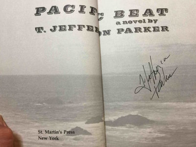PACIFIC BEAT. by Parker, T. Jefferson.