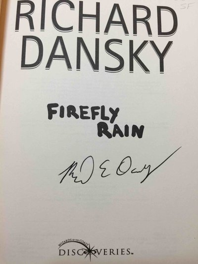FIREFLY RAIN. by Dansky, Richard.