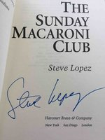 THE SUNDAY MACARONI CLUB by Lopez, Steve