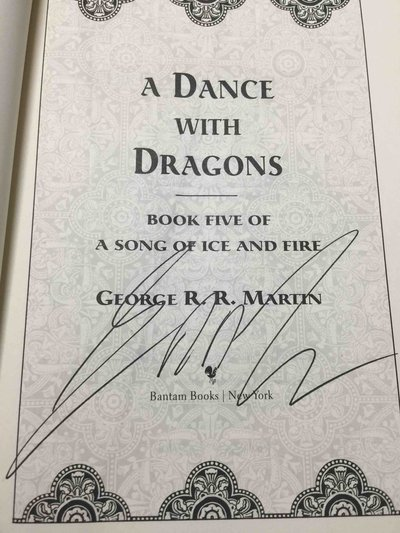A DANCE WITH DRAGONS: Book Five of A Song of Ice and Fire. by Martin, George R. R.