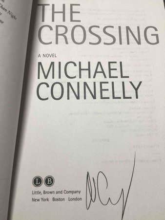 THE CROSSING. by Connelly, Michael.