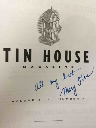 TIN HOUSE MAGAZINE #14, WINTER 2003. Volume 4, Number 2: Gimme Shelter. by McCormack, Win, editor. Jim Shepard and Mary Otis, signed.