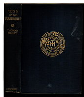TESS OF THE D'URBERVILLES: A Pure Woman, Faithfully Presented. by Hardy Thomas (1840-1928.)