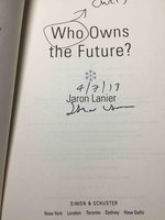 WHO OWNS THE FUTURE? by Lanier, Jaron.