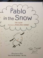 PABLO IN THE SNOW. by Sloat, Teri. Illustrated by Rosalinde Bonnet.