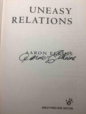 UNEASY RELATIONS. by Elkins, Aaron.