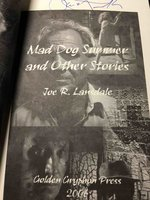 MAD DOG SUMMER and Other Stories. by Lansdale, Joe R.
