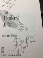 THE CORNBREAD KILLER. by Temple, Lou Jane.