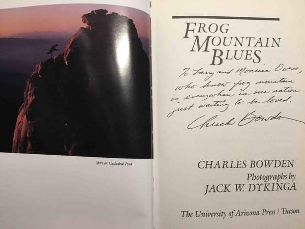 FROG MOUNTAIN BLUES. by Bowden, Charles.