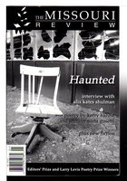 THE MISSOURI REVIEW: Haunted: 2001, Volume XXIV, Number 1. by Morgan, Speer, editor.