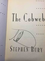 THE COBWEB. by Stephenson, Neal  and George, J. Frederick (writing as Stephen Bury)