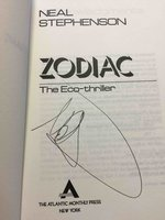 ZODIAC: The Eco-Thriller by Stephenson, Neal