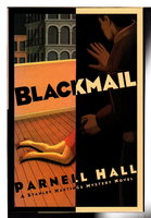 BLACKMAIL. by Hall, Parnell.