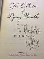 THE COLLECTOR OF DYING BREATHS. by Rose, M. J.