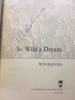 SO WILD A DREAM. by Blevins, Win.